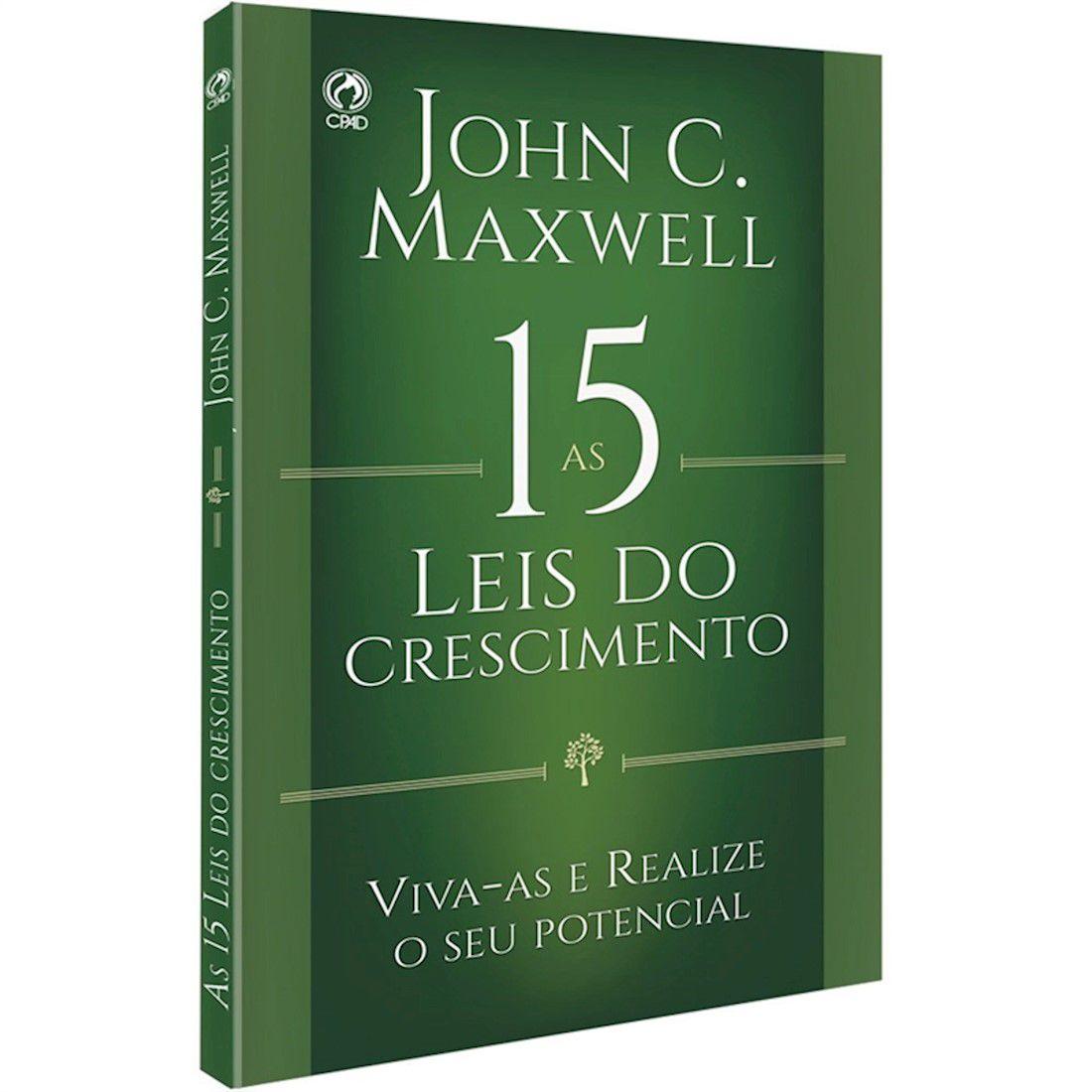 Livro As 15 Leis do Crescimento