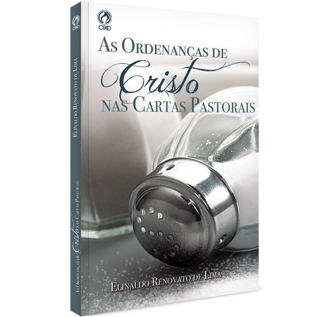 Livro As Ordenanças de Cristo nas Cartas
