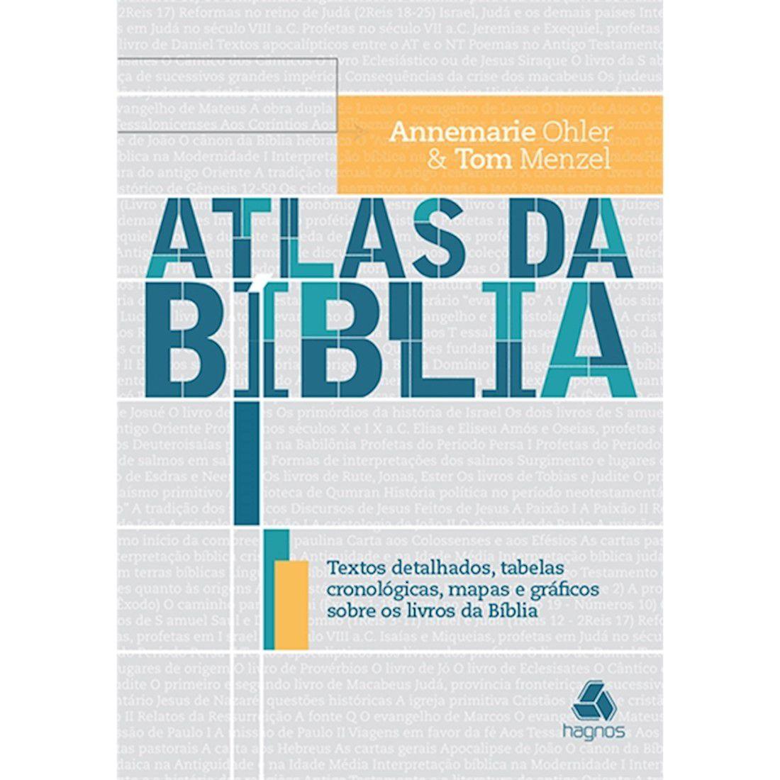 Livro Atlas Da Bíblia