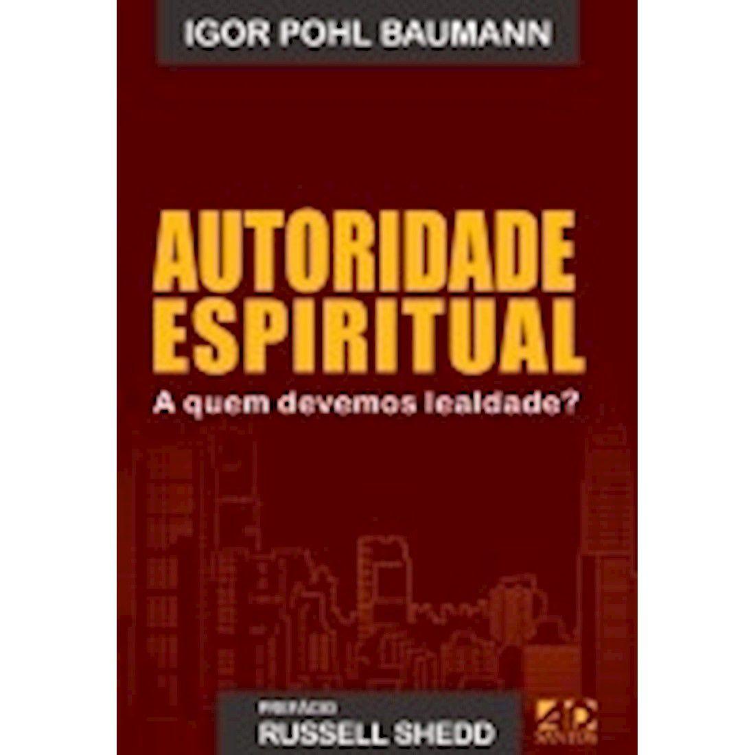Livro Autoridade Espiritual