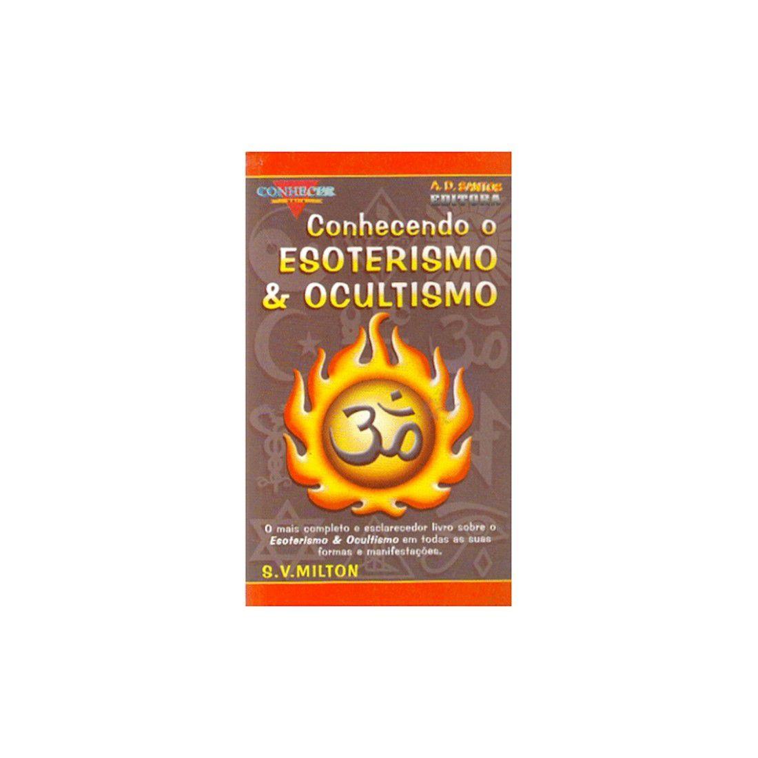 Livro Conhecendo o Esoterismo e Ocultismo - Série Conhecer