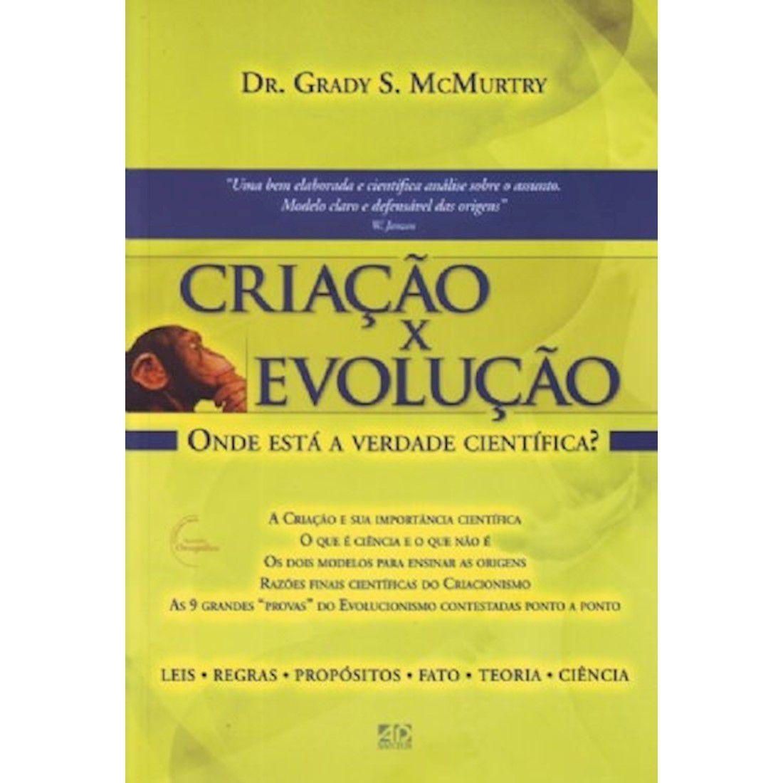 Livro Criação x Evolução
