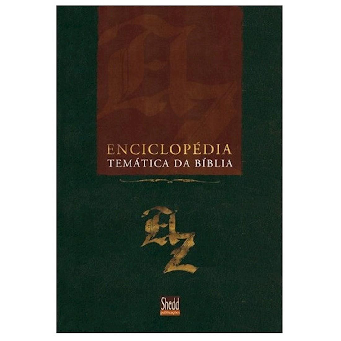 Livro Enciclopédia Temática da Bíblia