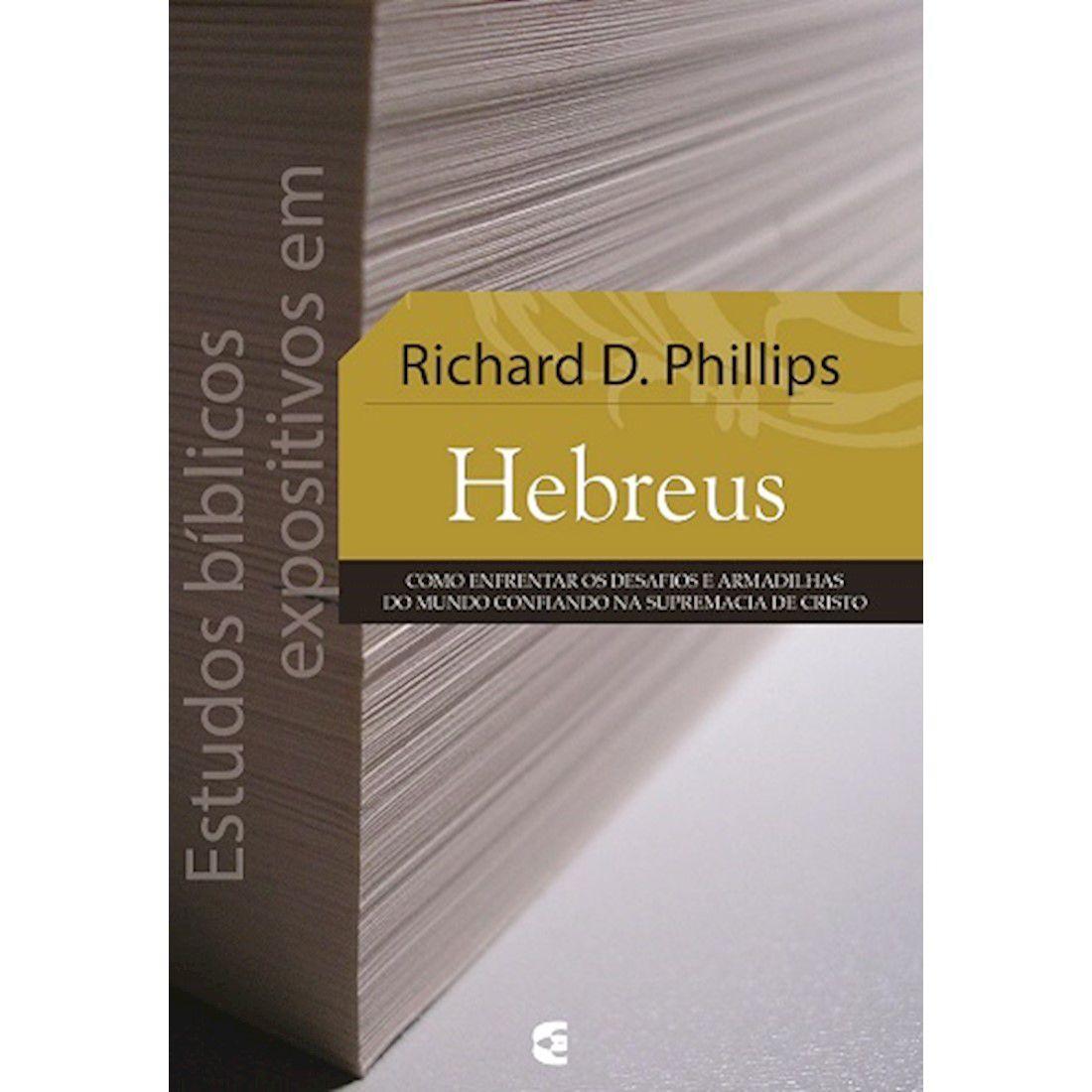 Livro Estudos Bíblicos Expositivos em Hebreus
