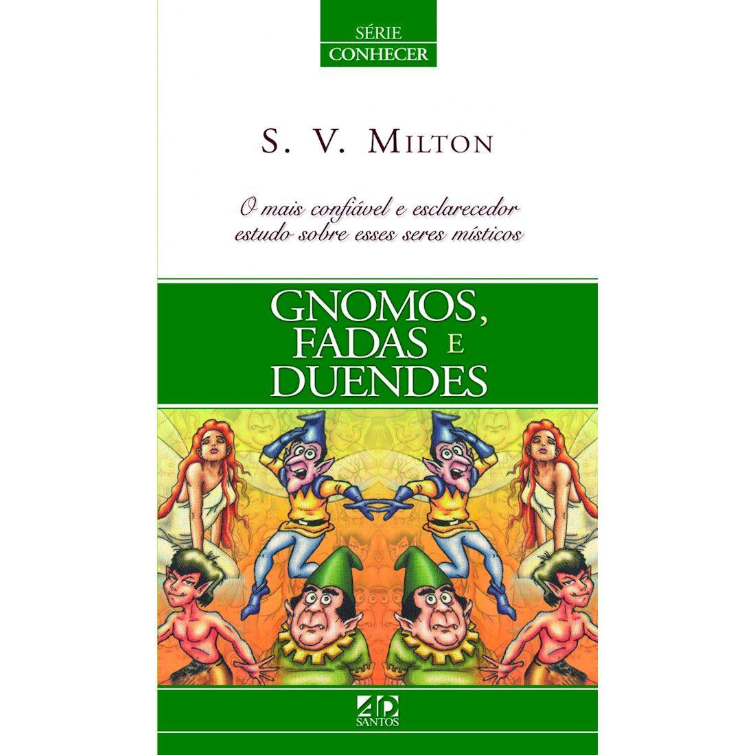 Livro Gnomos, Fadas e Duendes - Série Conhecer