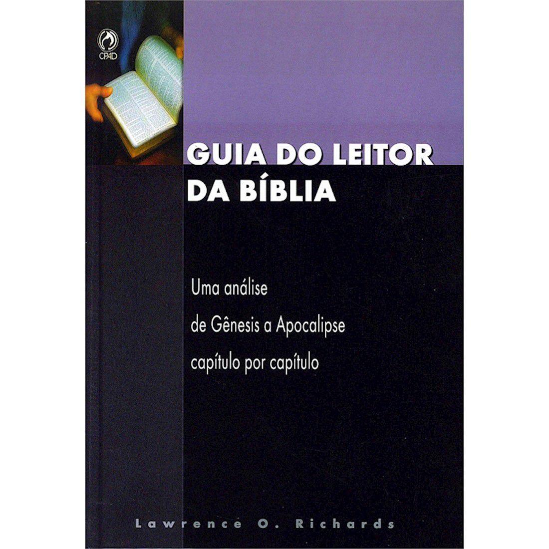 Livro Guia do Leitor da Bíblia