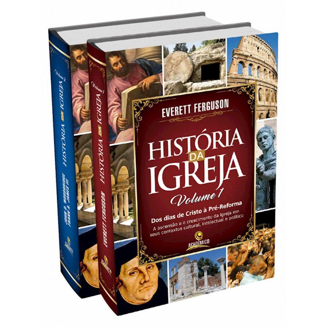 Livro História da Igreja   02 Volumes