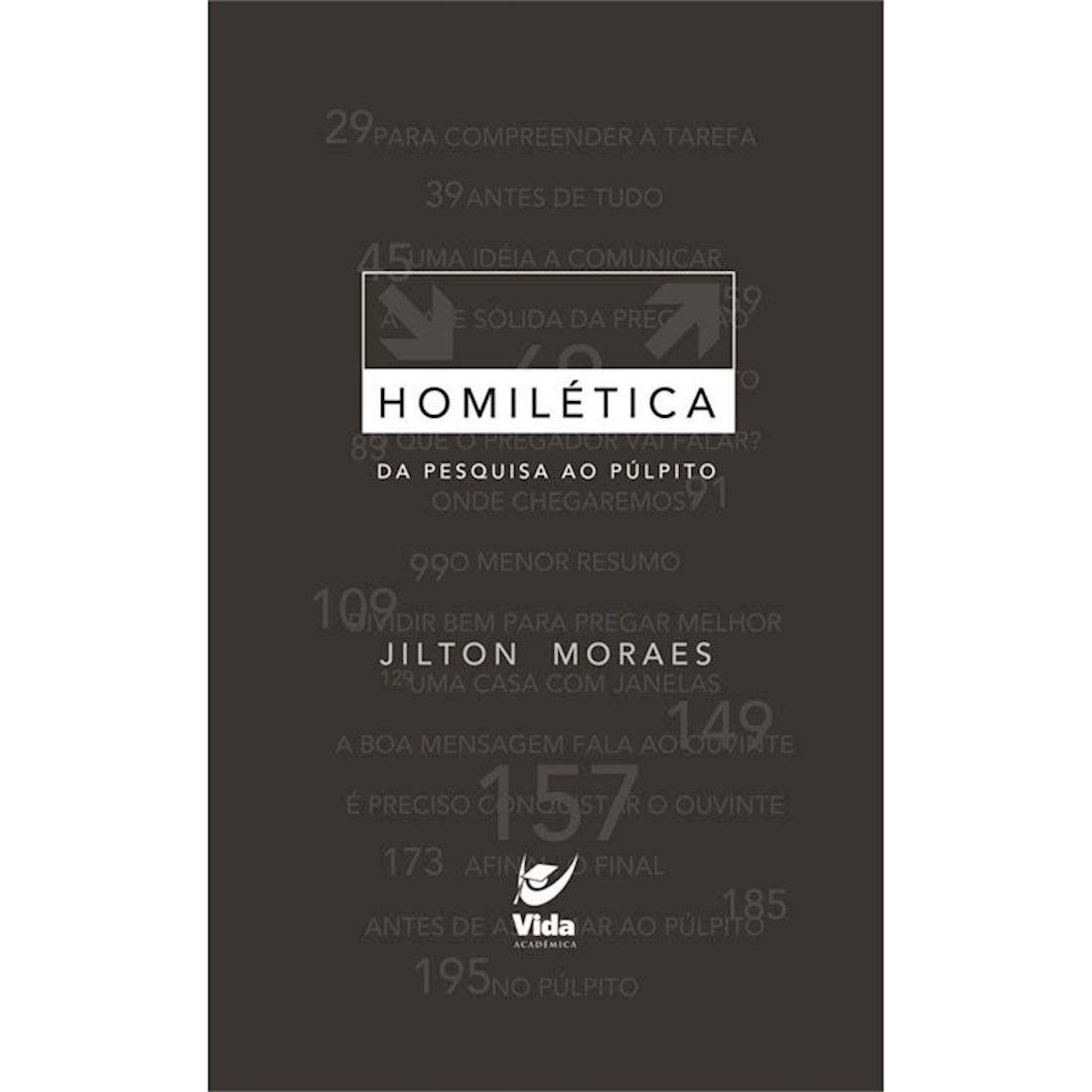 Livro Homilética - Da Pesquisa ao Pulpito