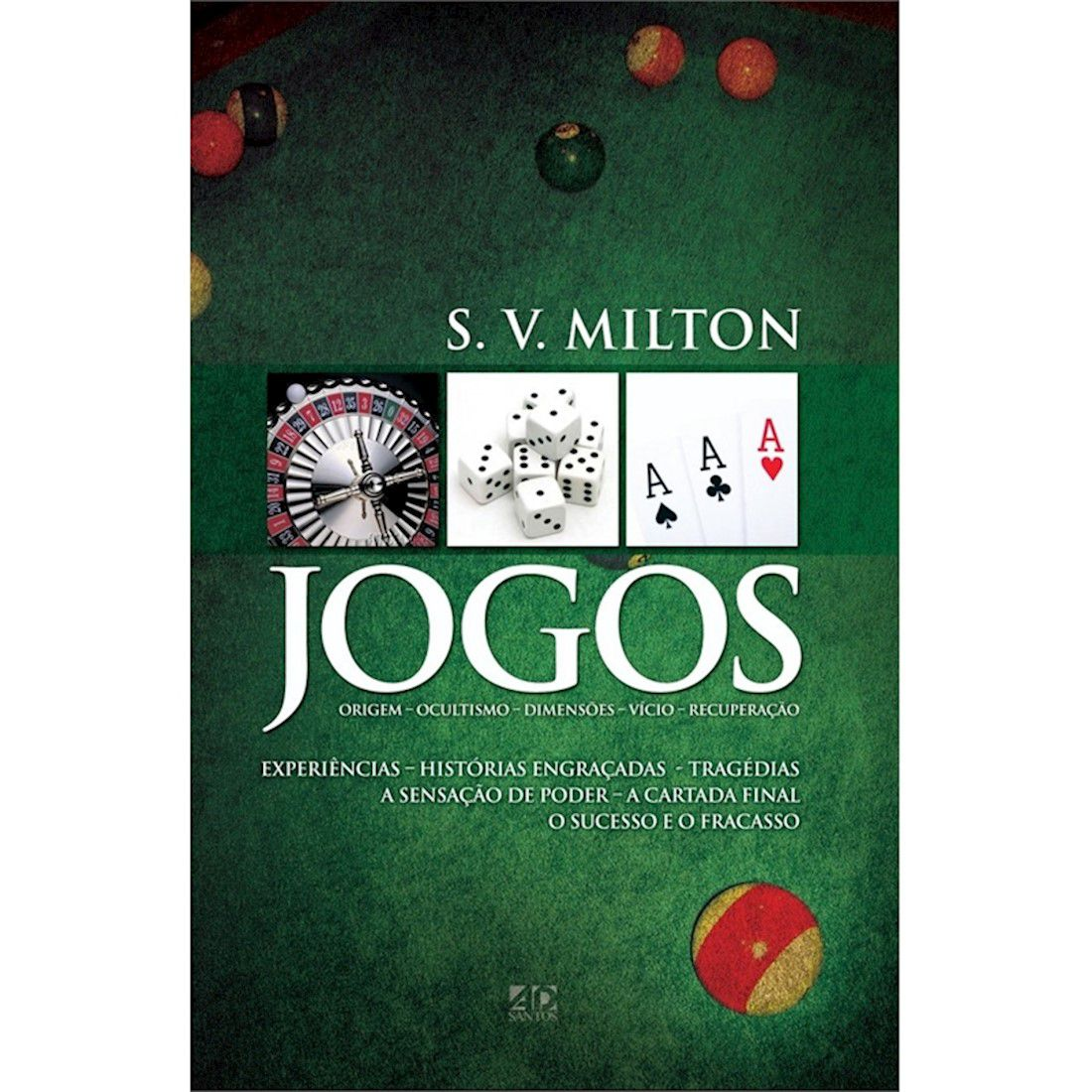 Livro Jogos - Origem , Ocultismo, Dimensões, Vício, Recuperação