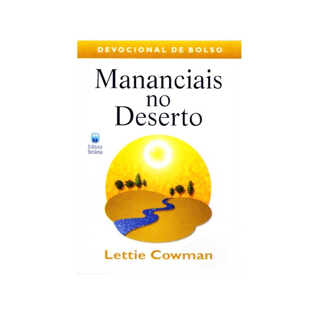 Livro Mananciais no Deserto - Devocional de Bolso