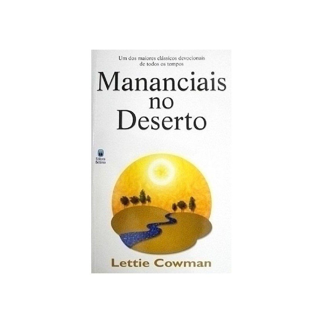 Livro Mananciais no Deserto - Nova Edição
