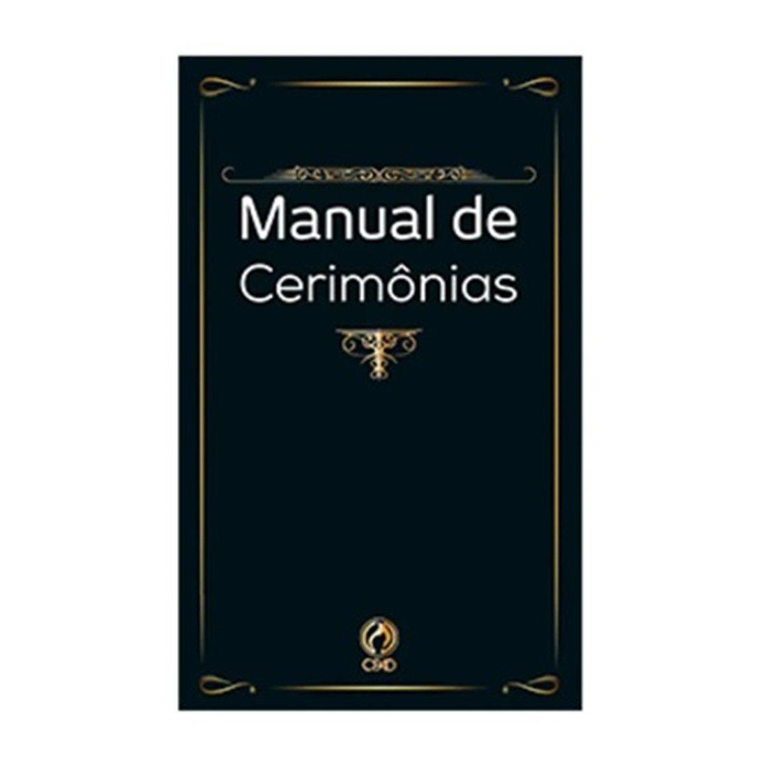 Livro Manual de Cerimônias - Brochura