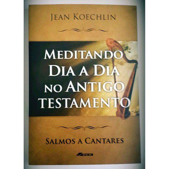 Livro Meditando Dia a Dia no Antigo Testamento Vol.3