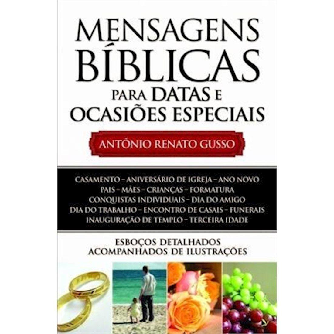 Livro Mensagens Bíblicas Para Datas Especiais