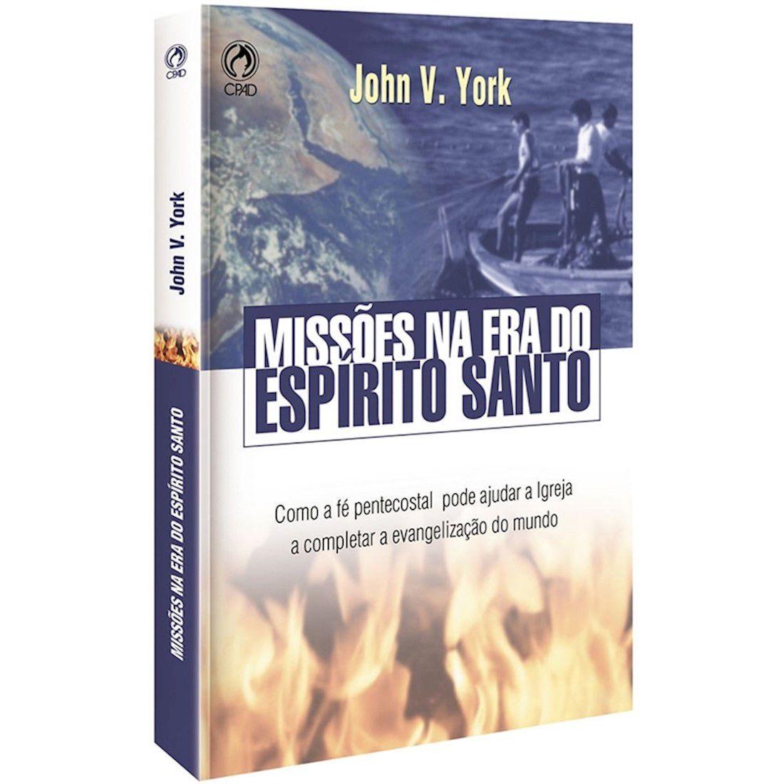 Livro Missões na Era do Espírito Santo