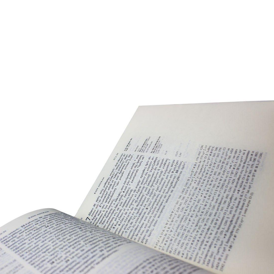Livro Novum Testamentum Graece