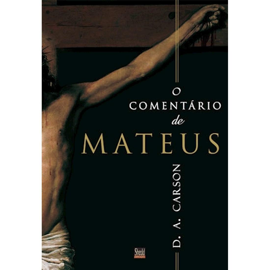 Livro O Comentário de Mateus