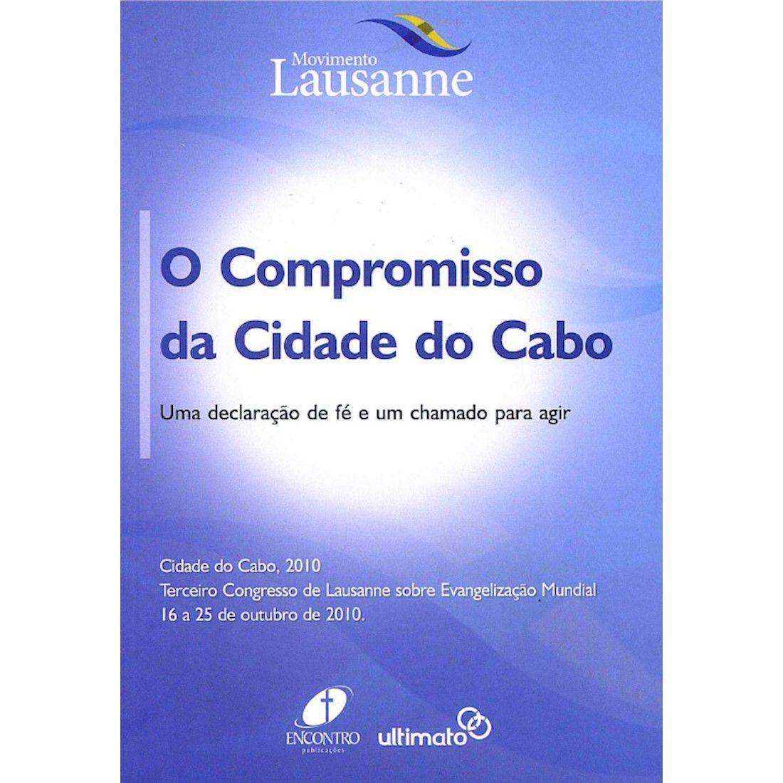 Livro O Compromisso da Cidade do Cabo