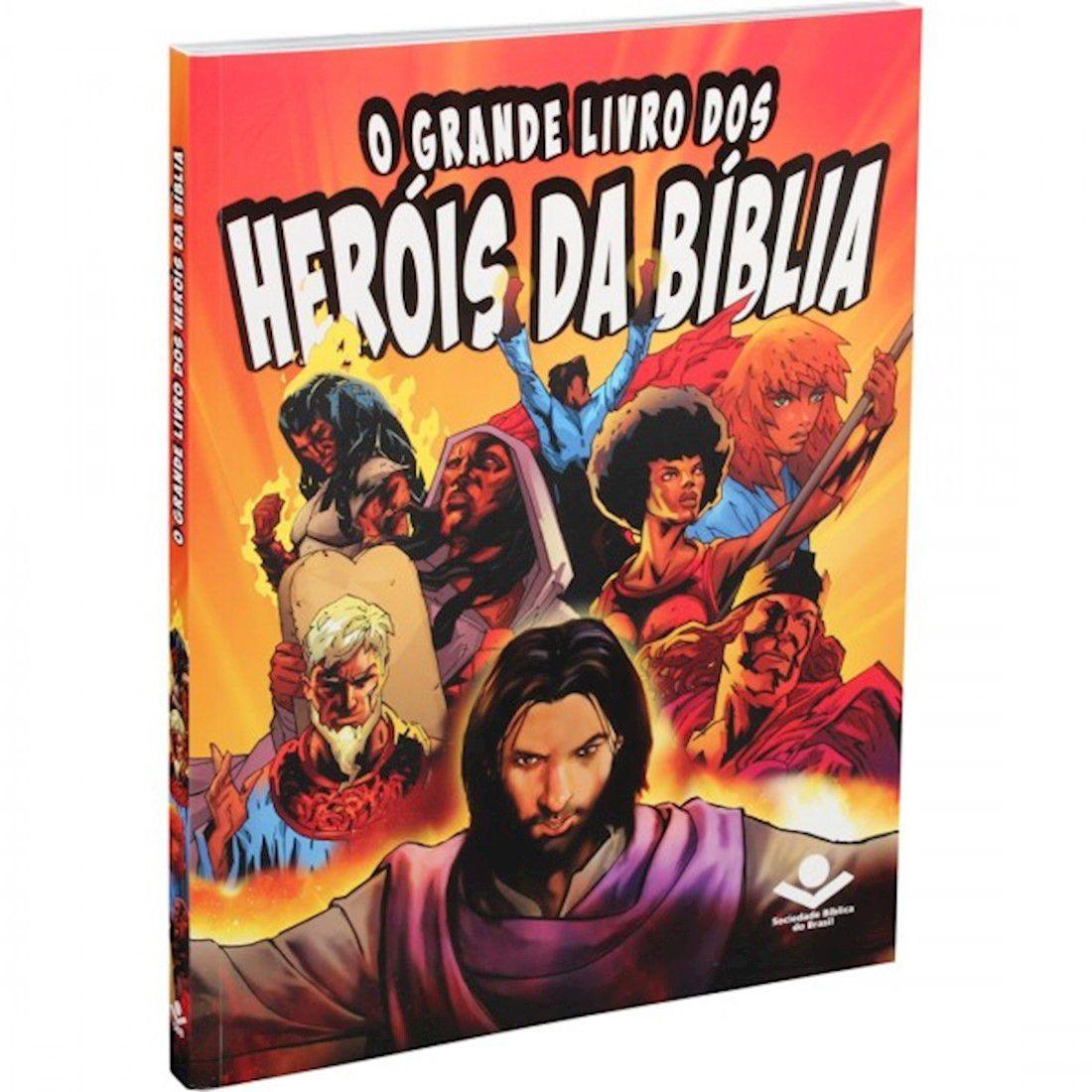 Livro O Grande Livro dos Heróis da Biblia - Capa Brochura