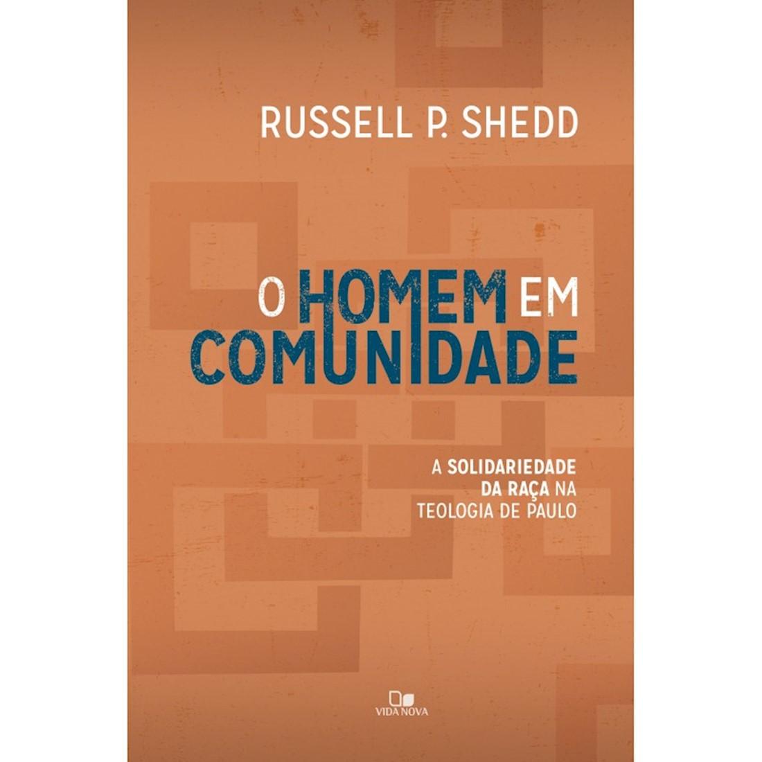Livro O Homem em Comunidade
