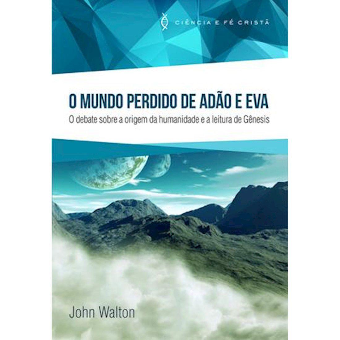 Livro O Mundo Perdido de Adão e Eva