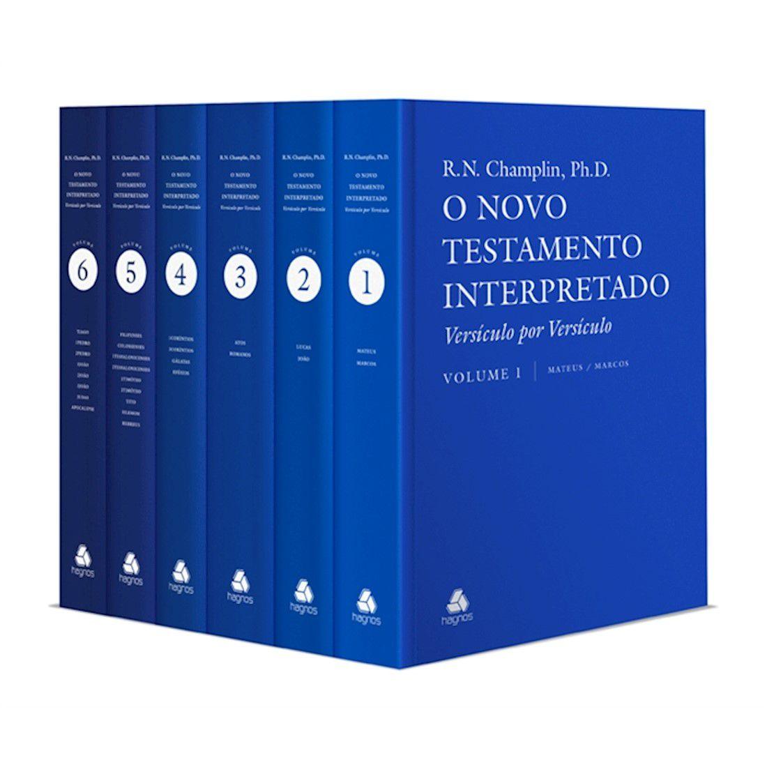 Livro O Novo Testamento Interpretado: Versículo por Versículo