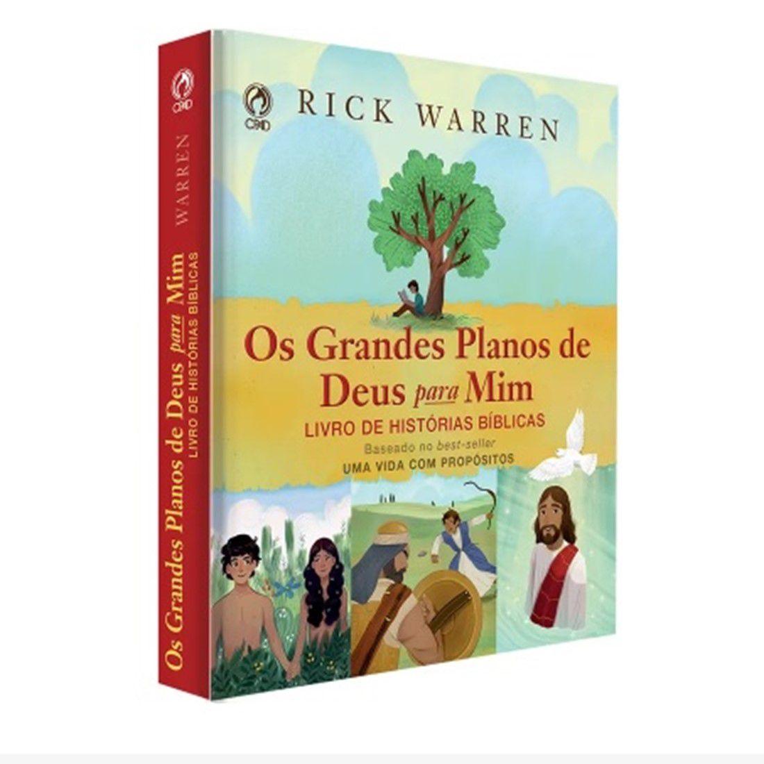 Livro Os Grandes Planos de Deus para Mim