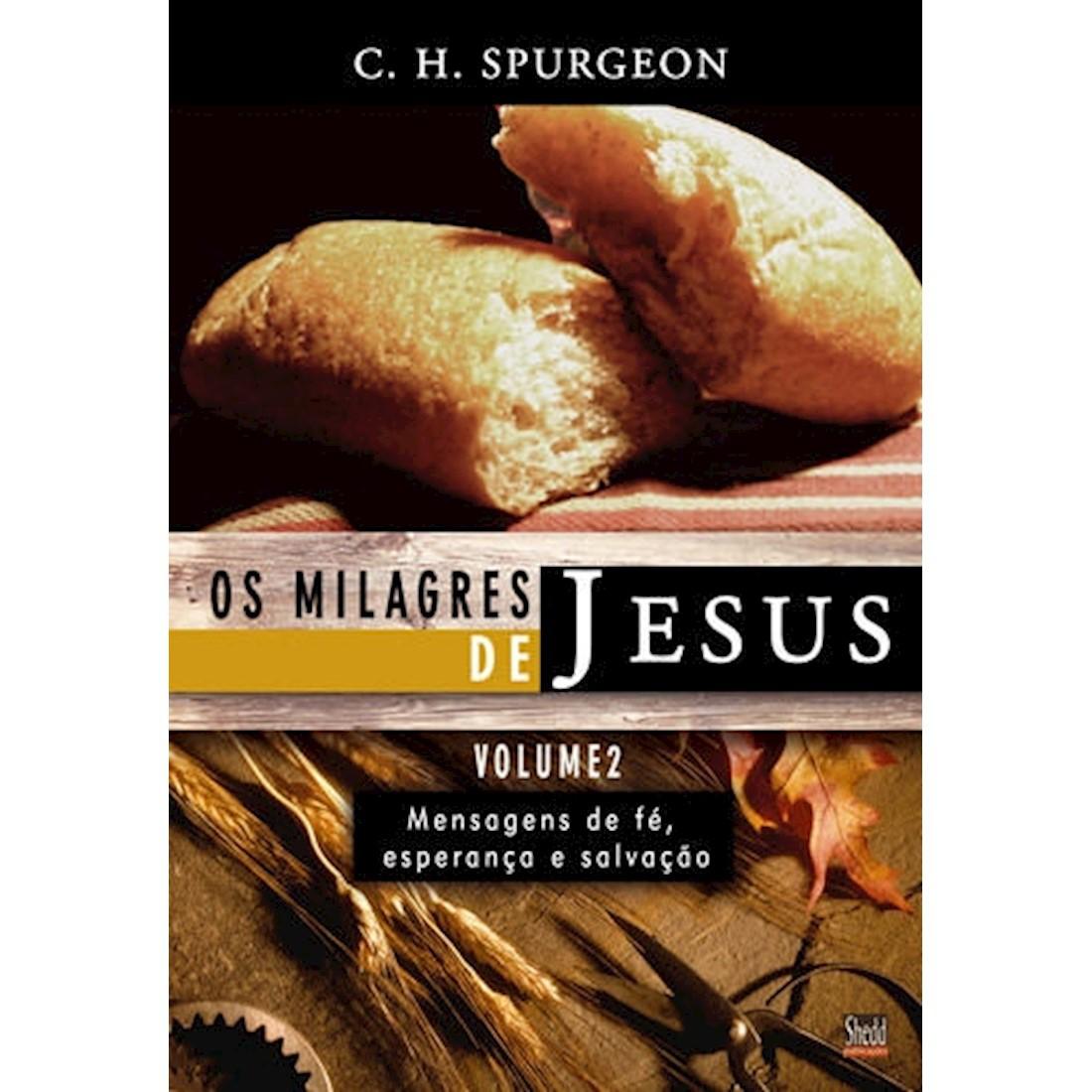 Livro Os Milagres de Jesus - Vol 2