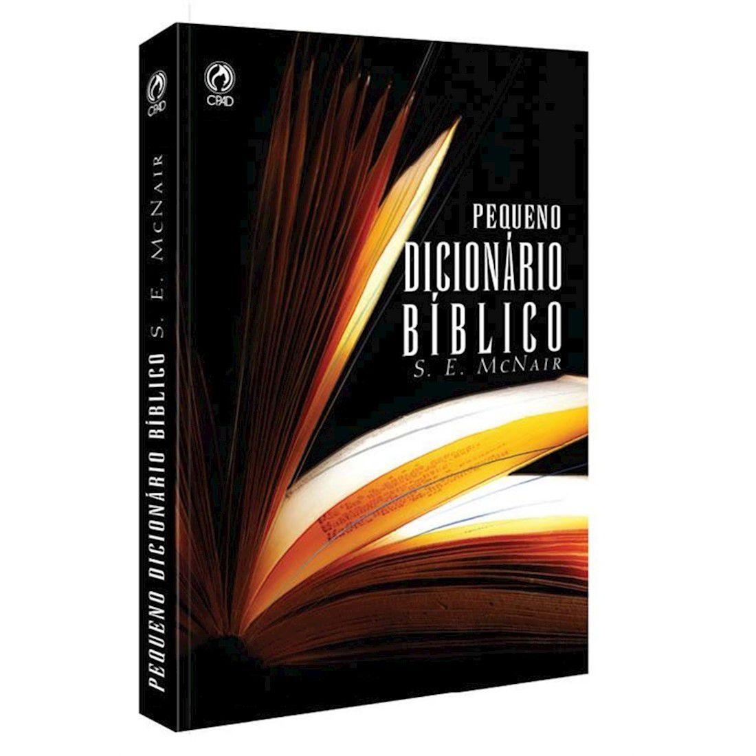 Livro Pequeno Dicionário Bíblico