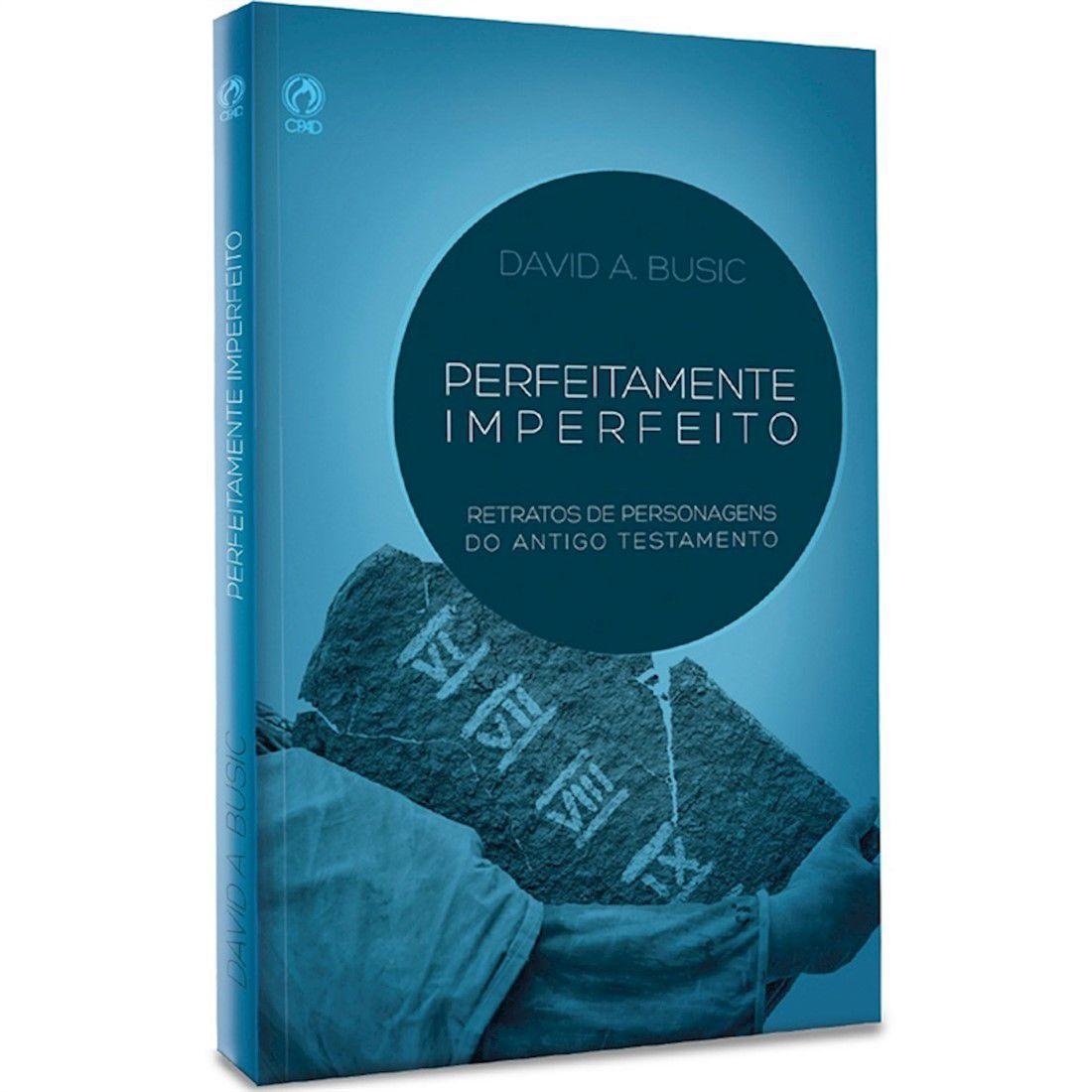 Livro Perfeitamente Imperfeito