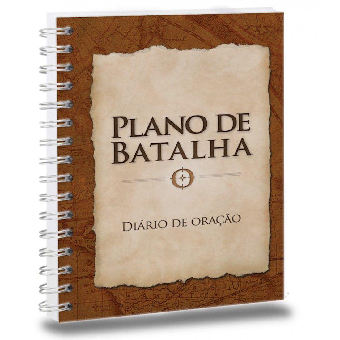 Livro Plano de Batalha - Diário de Oração