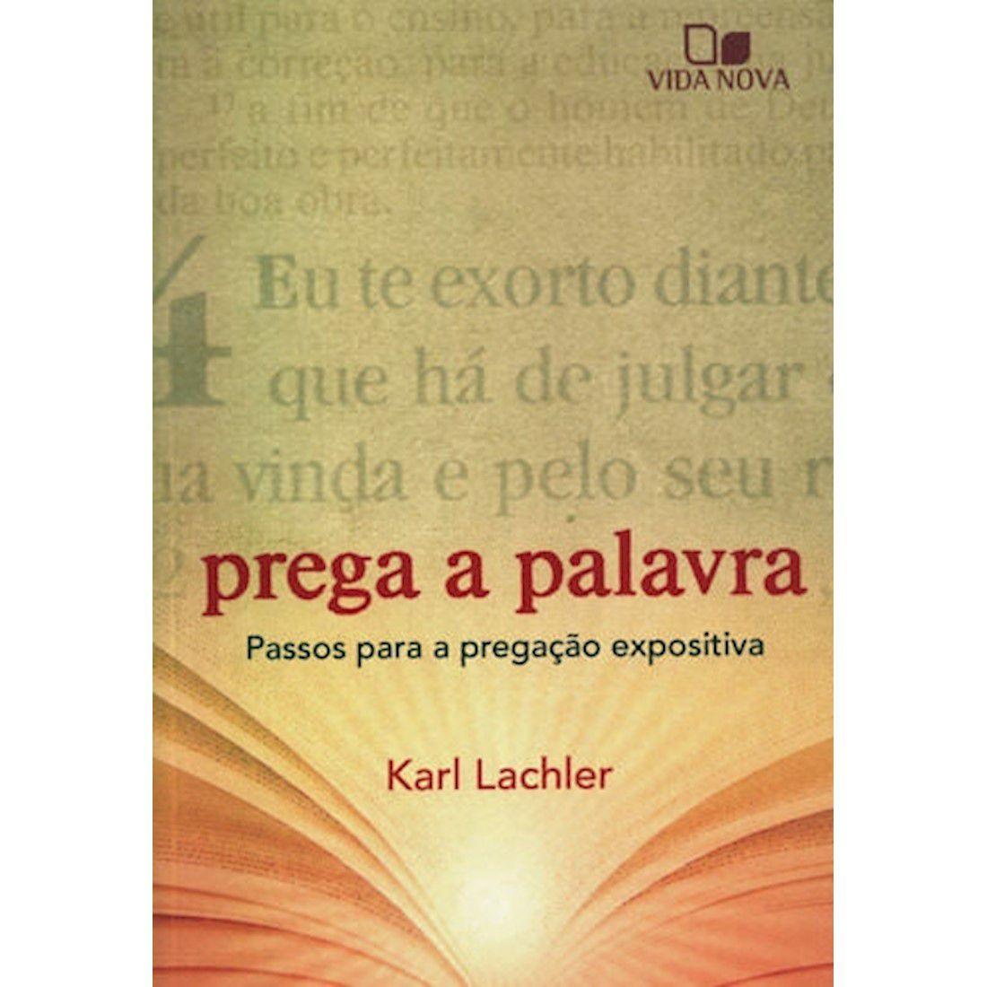 Livro Prega a Palavra