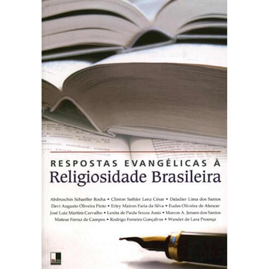 Livro Respostas Evangélicas à Religiosidade Brasileira