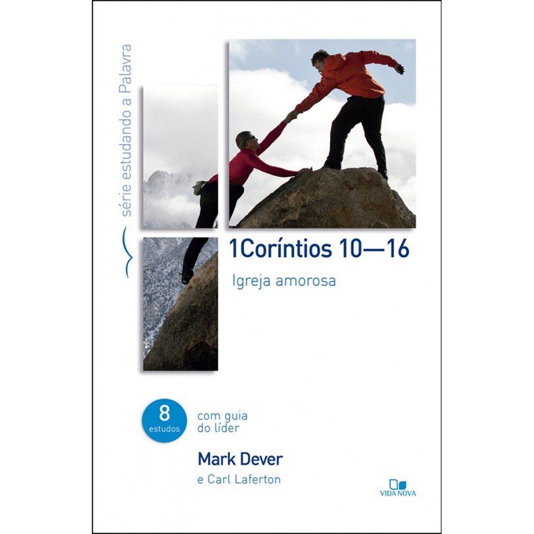 Livro Série Estudando a Palavra - 1Coríntios - 10?16