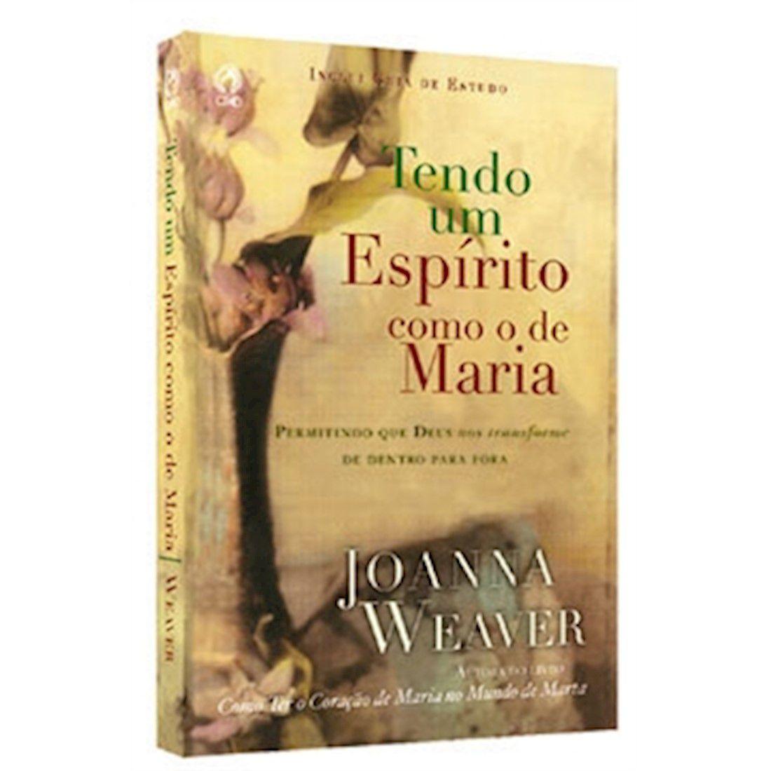 Livro Tendo um Espírito como o de Maria