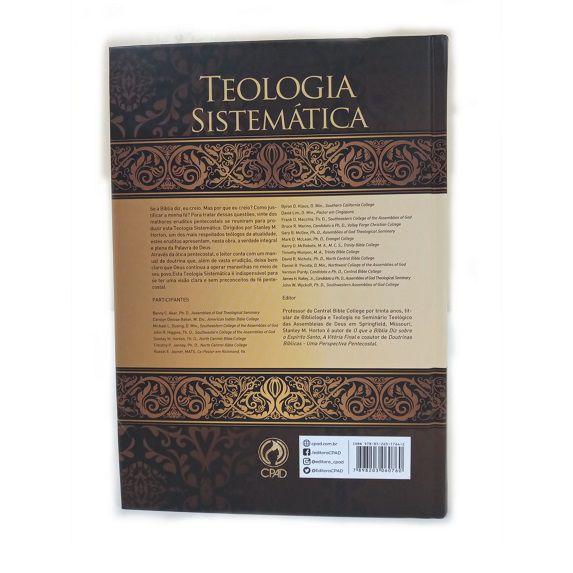 Livro Teologia Sistemática de Horton