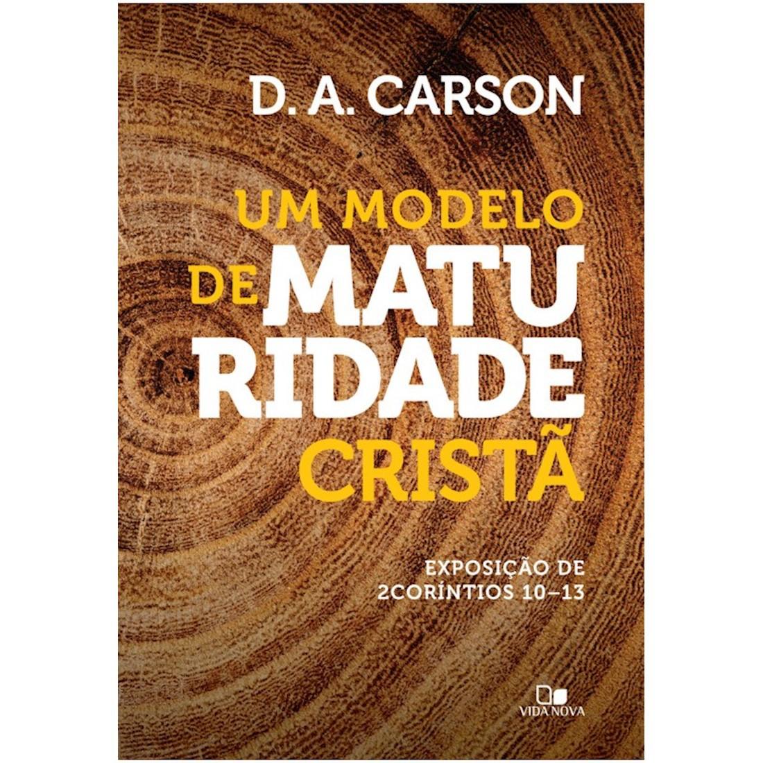 Livro Um Modelo de Maturidade Cristã