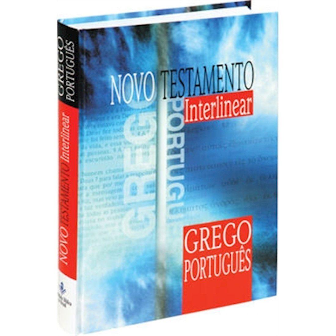 Novo Testamento Interlinear Grego-Português - Capa Dura