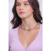 Choker correntes color