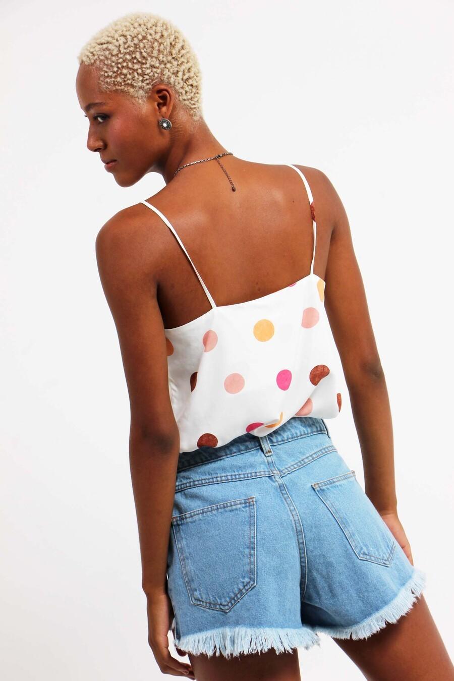 Blusa Nicolle poá color