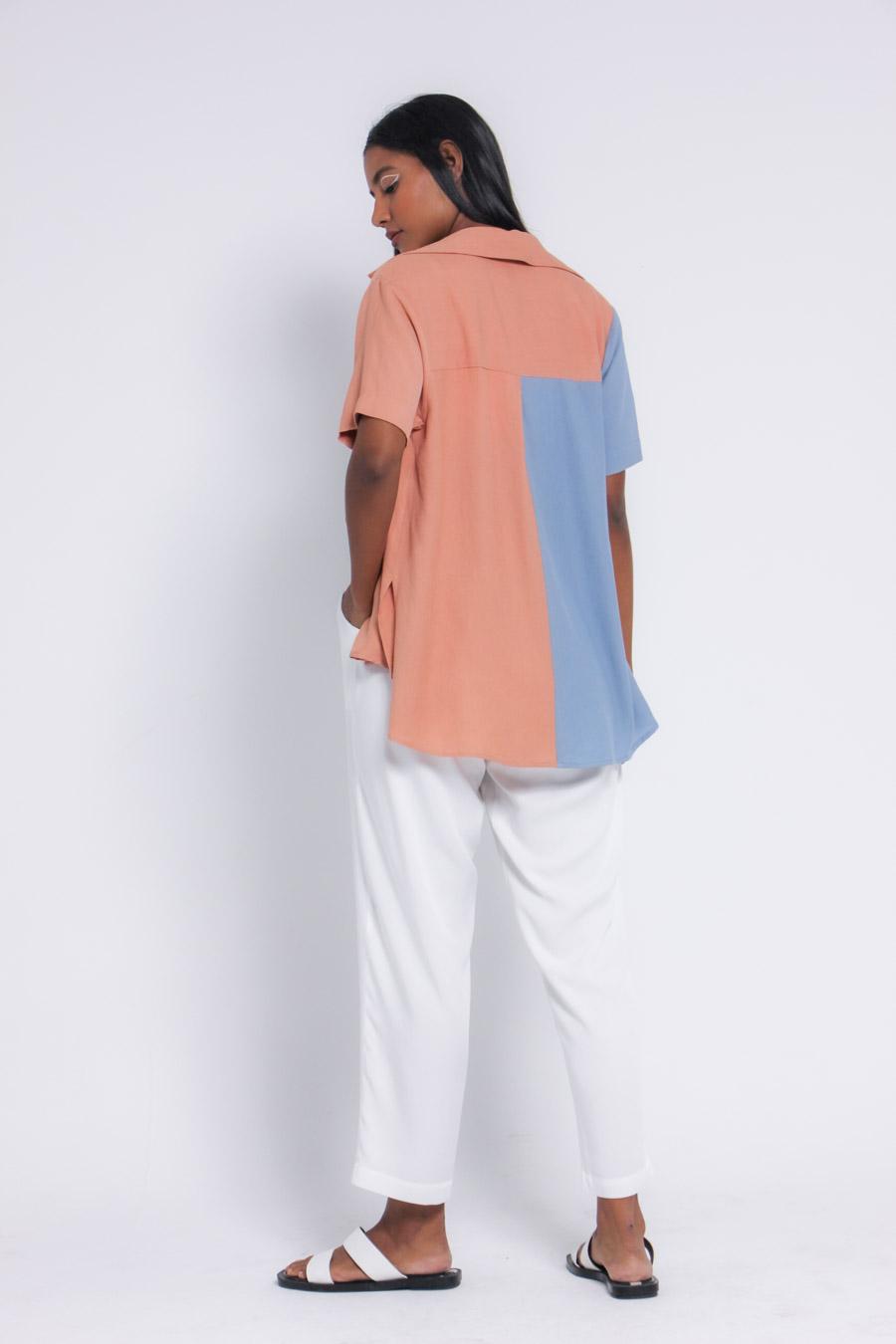 Camisa constancia torrone / oásis
