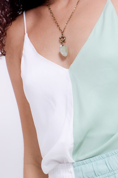Colar boia jade