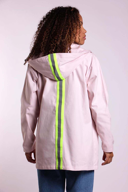 Jaqueta sarja detalhe neon
