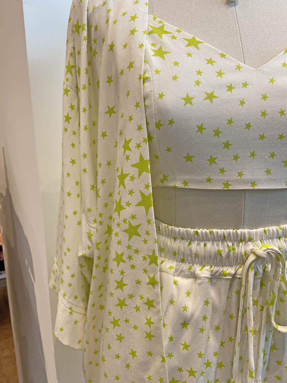 Kimono estrelinhas