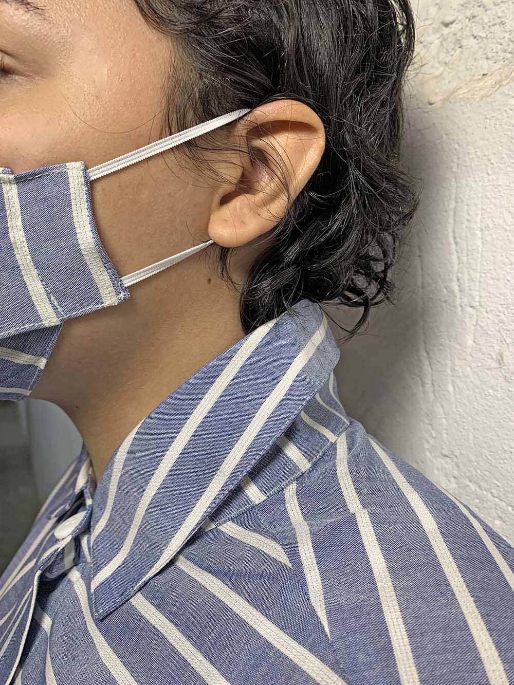 Máscara proteção jeans