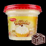 Beijinho 400g<br> - Caixa com 12 potes - 4.8 kg