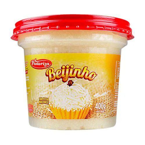Beijinho 400g - Caixa com 2 potes - 800g