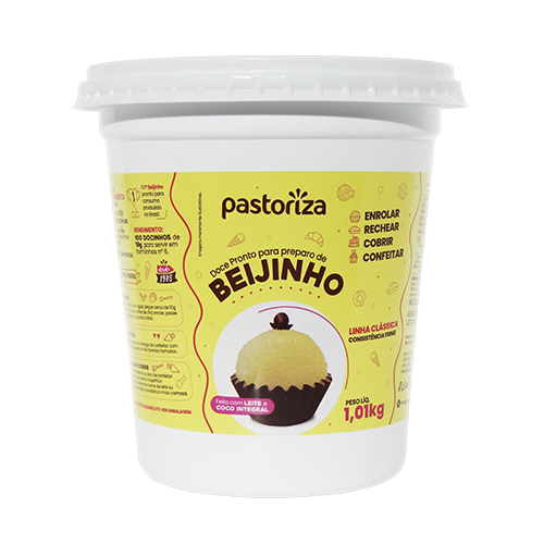 Beijinho Pronto Pote 1,01kg