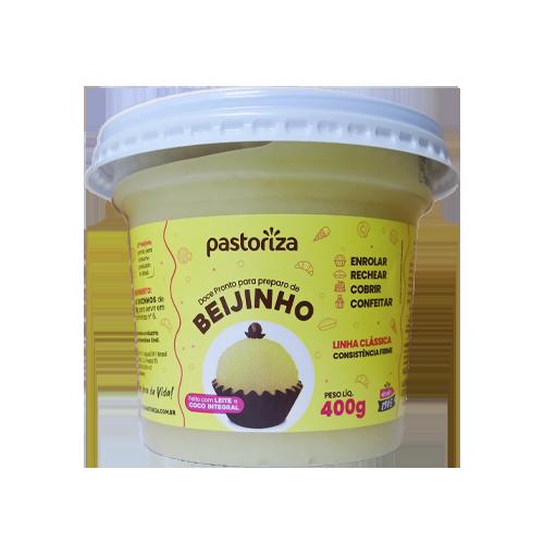 Beijinho Pronto 400g<br /> - Caixa com 12 potes - 4.8 kg