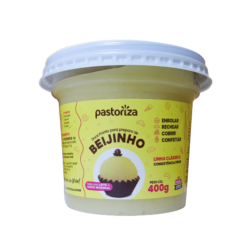 Beijinho Pronto 400g - Caixa com 2 potes - 800g
